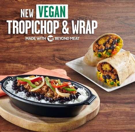 Plant-Based Beef Burritos