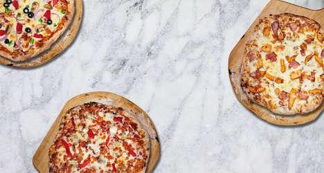 Convenient Artisanal Fresh Pizzas