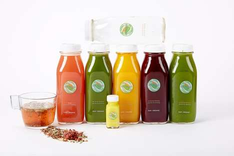 Natural Juice Cleanse Kitchens