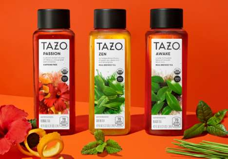 Flavorful Ready-to-Drink Iced Teas