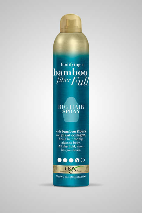 Bamboo Fiber-Infused Hairsprays