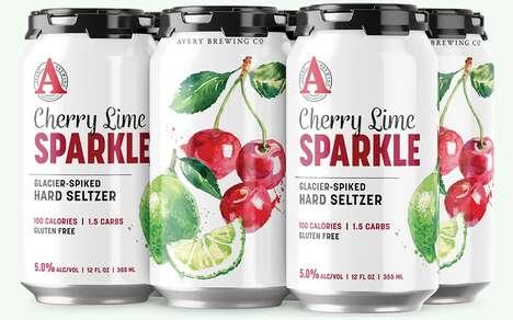 Crisp Canned Seltzer Cocktails
