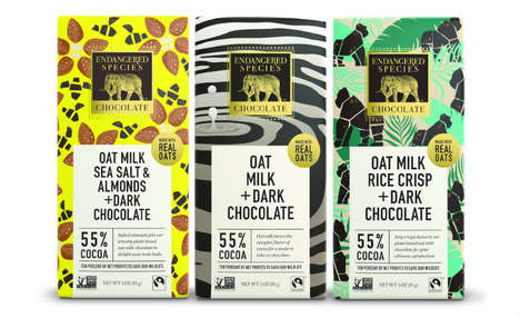 Mission-Driven Oat Milk Chocolates