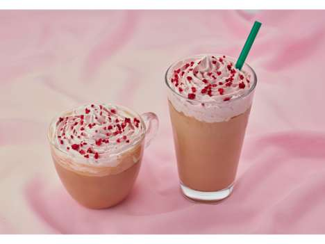 Pink Chocolate Mochas