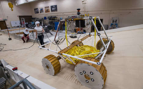 Lunar Rover Testing Programs