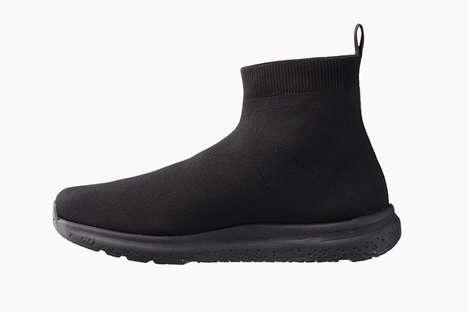 Sock-Like Athletic Footwear
