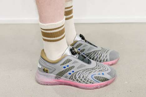 Haute Sportswear-Inspired Sneakers