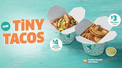 Snack-Friendly QSR Tacos