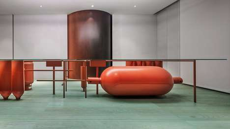 Upcycled Gas Container Furniture