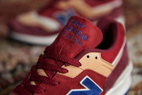 Rug-Inspired Sneaker Designs - New Balance and END. Clothing Unveil the Persian Rug 997 Sneakers