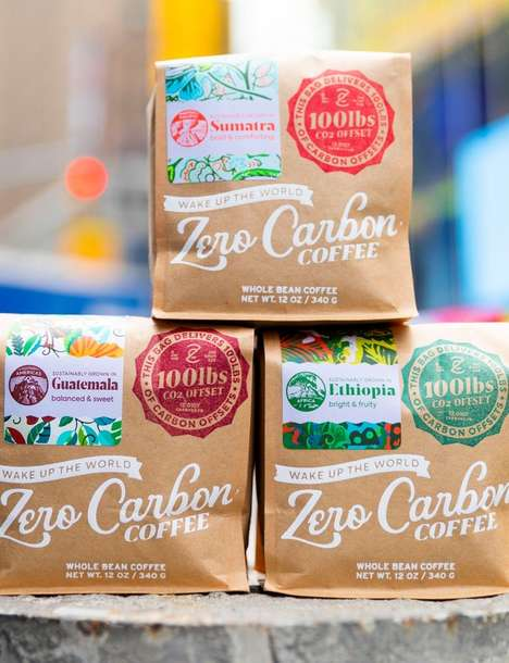 Carbon-Offsetting Coffees