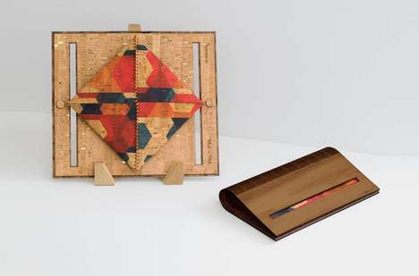 Trendy, Sustainable Clutches - These Cork Clutches are Both Eco-Friendly and Beautiful
