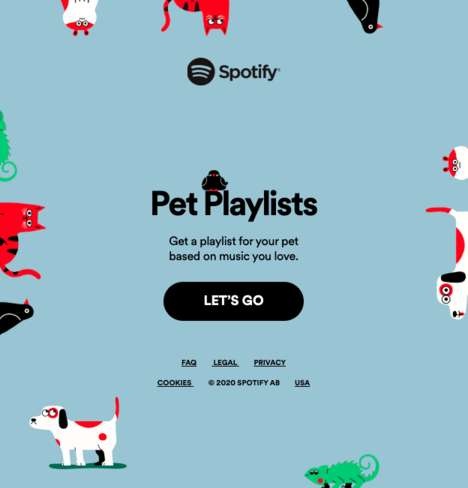 Pet-Targeted Playlists