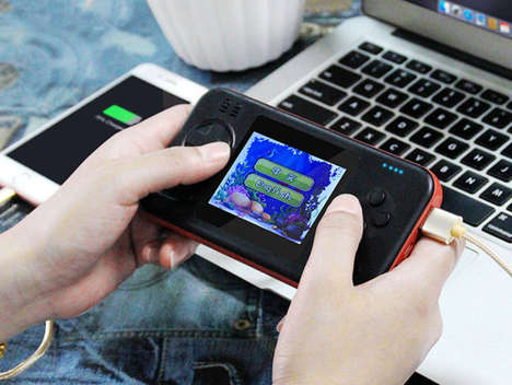 Smartphone-Charging Gaming Consoles