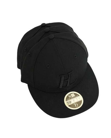 Anniverary-Honoring Tonal Caps - New Era Celebrates a Century with a Helmut Lang Collaboration