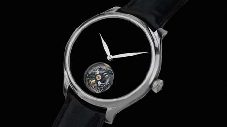 Light-Absorbing Luxury Watches