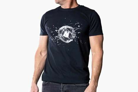 Shattered Vehicle Glass T-Shirts