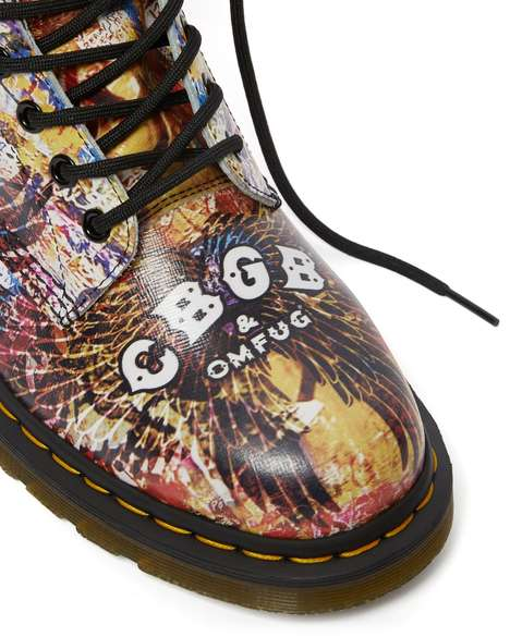 Punk Venue-Inspired Boots