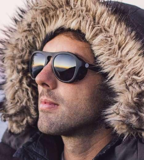 Snowy Landscape Sunglasses