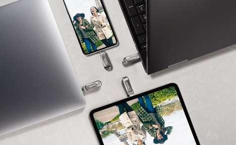 Dual-Connectivity USB Drives