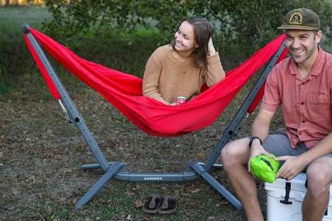 Independent Hammock-Hanging Stands
