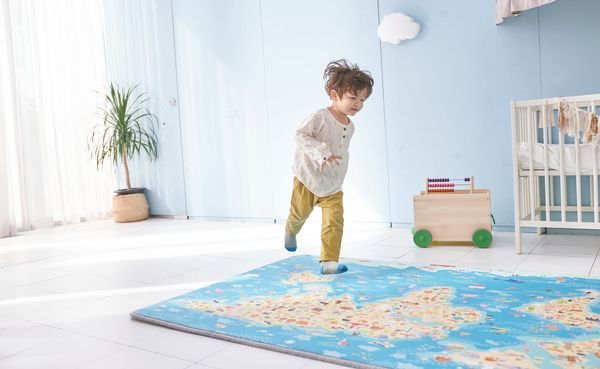 Connected Toddler Play Mats