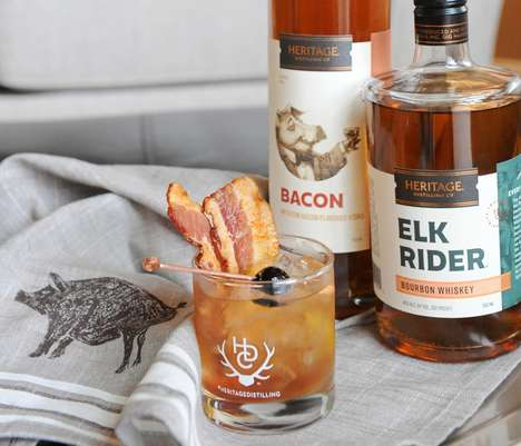 Smoky Bacon-Flavored Spirits