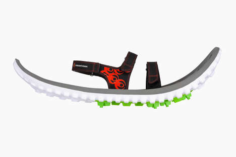 Biodegradable Eco Foam Snowshoes