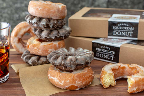 Cakey Sour Cream Donuts