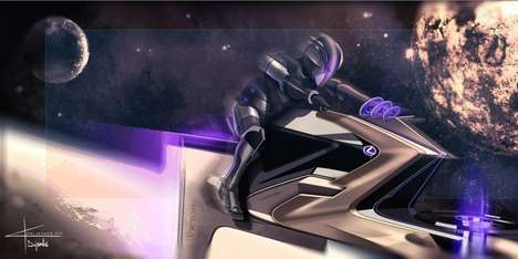 EV-Inspired Concept Space Vehicles