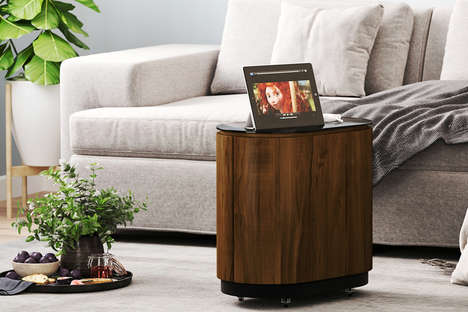 Tech-Incorporated Side Tables
