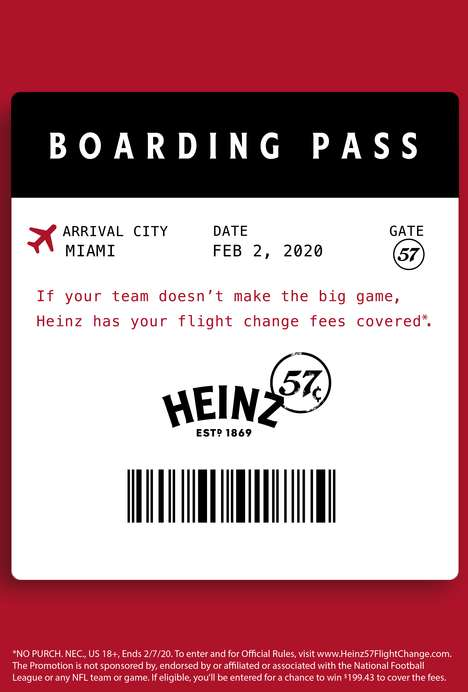 Football-Themed Flight Promotions