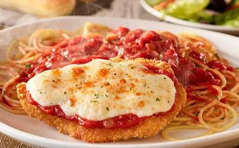 Calorie-Conscious QSR Italian Menus