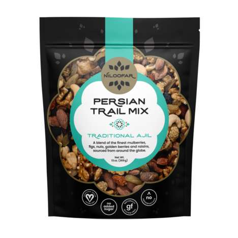 Persian-Style Trail Mix Snacks