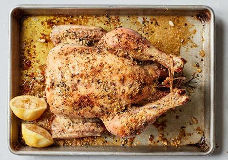 Parmesan Roast Chicken Dishes