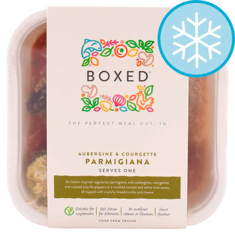 Vegetarian Italian Boxed Meals