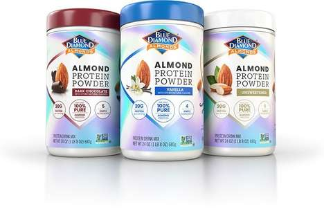 Almond-Based Protein Powders