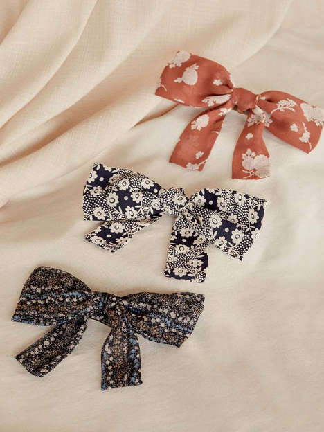 Timeless Upcycled Hair Bows