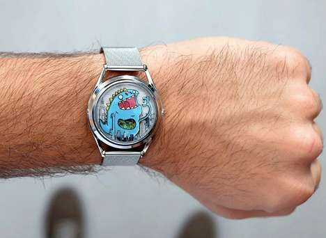 Monstrous Cartoon Timepieces