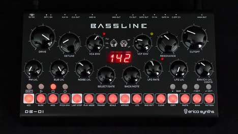 Analog Bassline Desktop Synthesizers