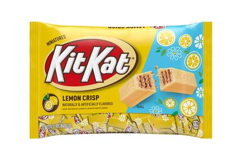 Lemon-Flavored Chocolate Snacks
