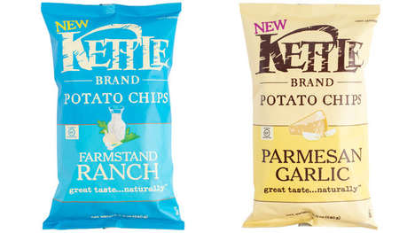 Boldly Flavored Kettle Chips