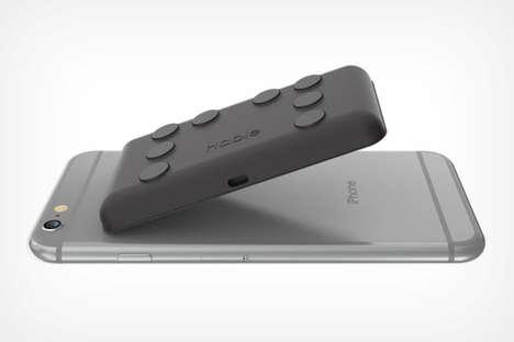 Braille Smartphone Keyboards
