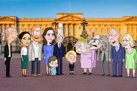 Satirized Royal Family Animations
