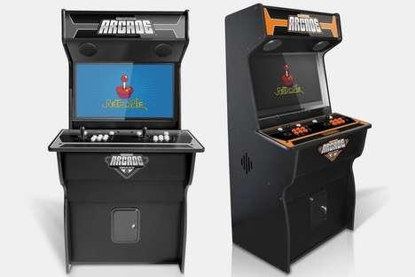 Flatpack Cabinet Arcade Games