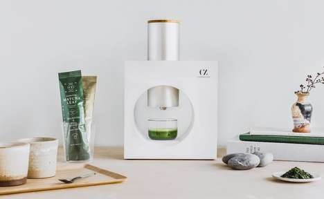 Espresso-Like Matcha Makers