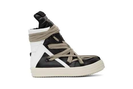 Dramatic Lace Avant-Garde Shoes