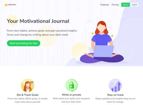 Motivational Coaching Journal Apps