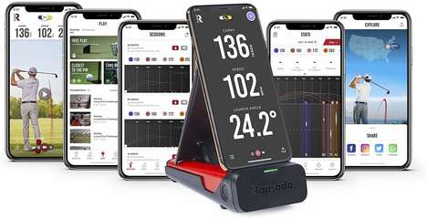 Swing-Tracking Golf Monitors