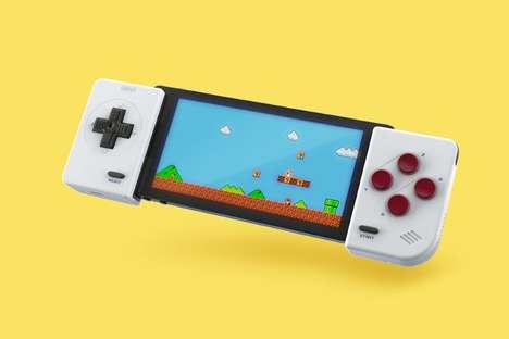 Nostalgic Smartphone Gamer Controllers